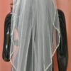 11352 GOLD veil back view