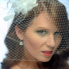 Bridal Cage Veils, Fascinators and Hats