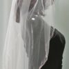 11359 ROSE GOLD veil side view