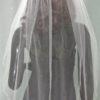 11359 SILVER veil back view